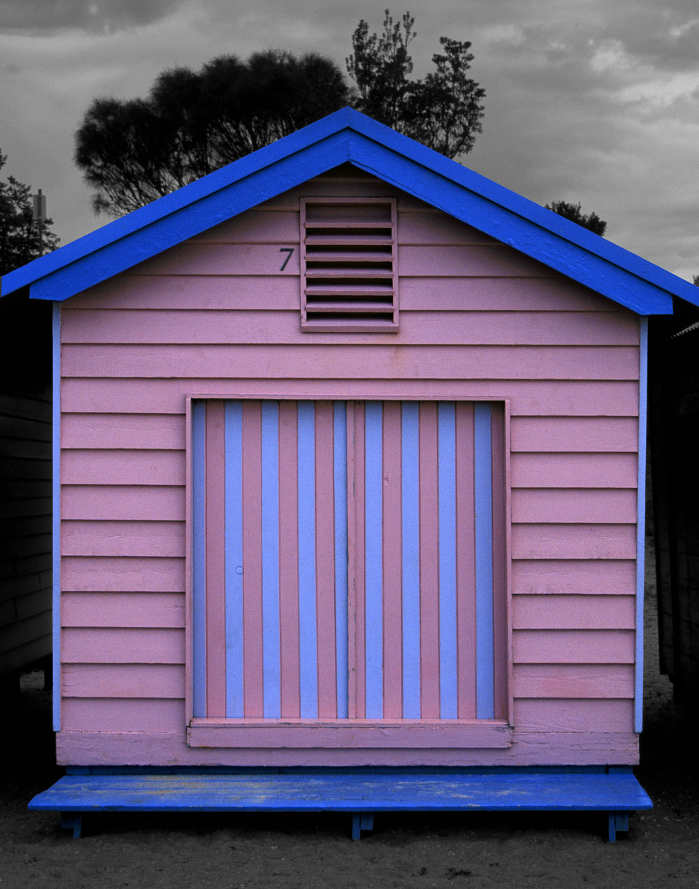 Judy Gelles,  Beach Box No. 7 , 2003  Digital pigment print, 8 x 10 in, edition of 20; 11 x 14 in, edition of 25; 16 x 20 in, edition of 25   Inquire
