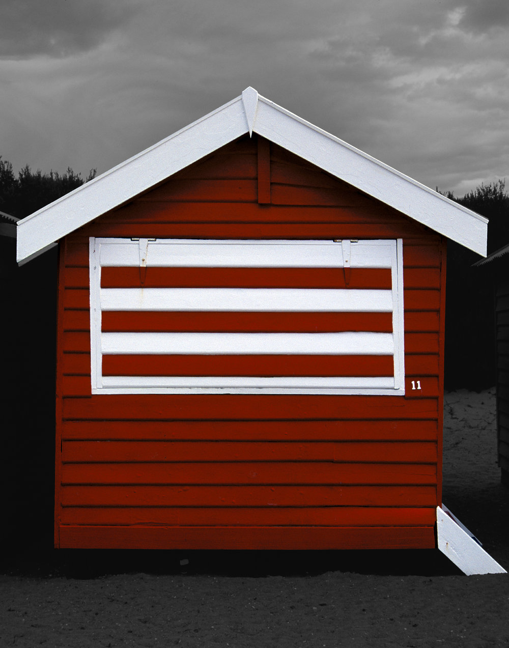Judy Gelles,  Beach Box No. 11 , 2003  Digital pigment print, 8 x 10 in, edition of 20; 11 x 14 in, edition of 25; 16 x 20 in, edition of 25   Inquire