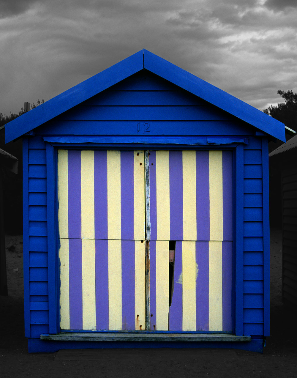 Judy Gelles,  Beach Box No. 12 , 2003  Digital pigment print, 8 x 10 in, edition of 20; 11 x 14 in, edition of 25; 16 x 20 in, edition of 25   Inquire