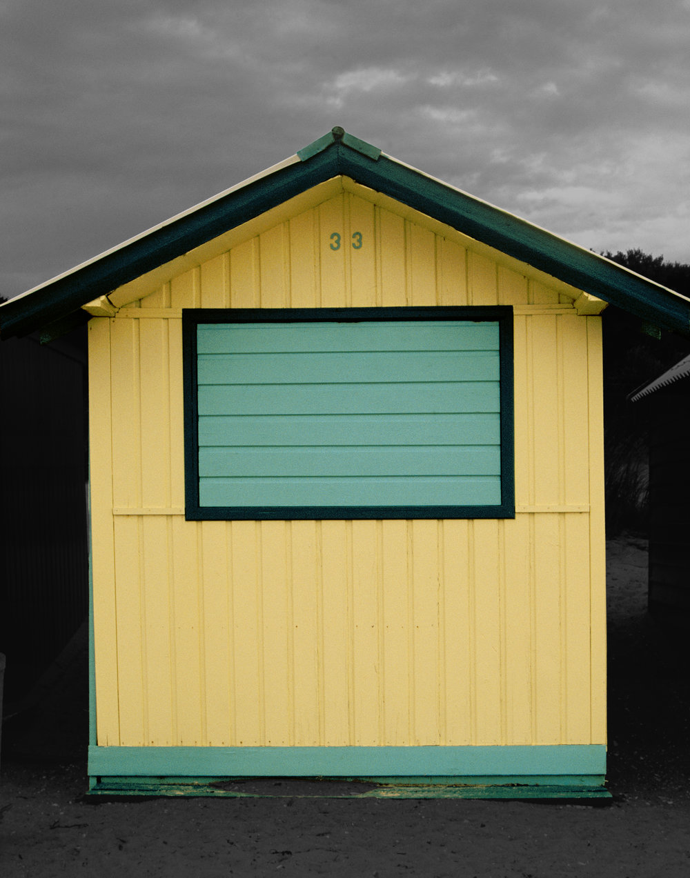 Judy Gelles,  Beach Box No. 33 , 2003  Digital pigment print, 8 x 10 in, edition of 20; 11 x 14 in, edition of 25; 16 x 20 in, edition of 25   Inquire