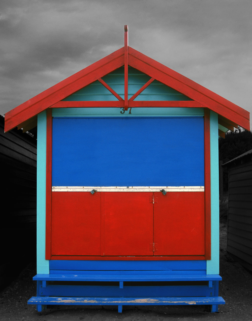 Judy Gelles,  Beach Box No. 37 , 2003  Digital pigment print, 8 x 10 in, edition of 20; 11 x 14 in, edition of 25; 16 x 20 in, edition of 25   Inquire