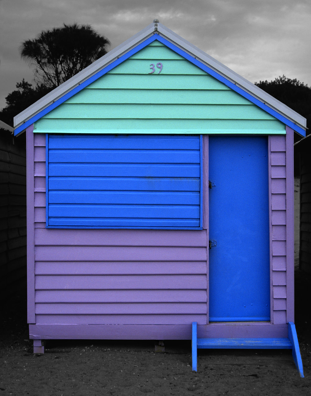 Judy Gelles,  Beach Box No. 39 , 2003  Digital pigment print, 8 x 10 in, edition of 20; 11 x 14 in, edition of 25; 16 x 20 in, edition of 25   Inquire