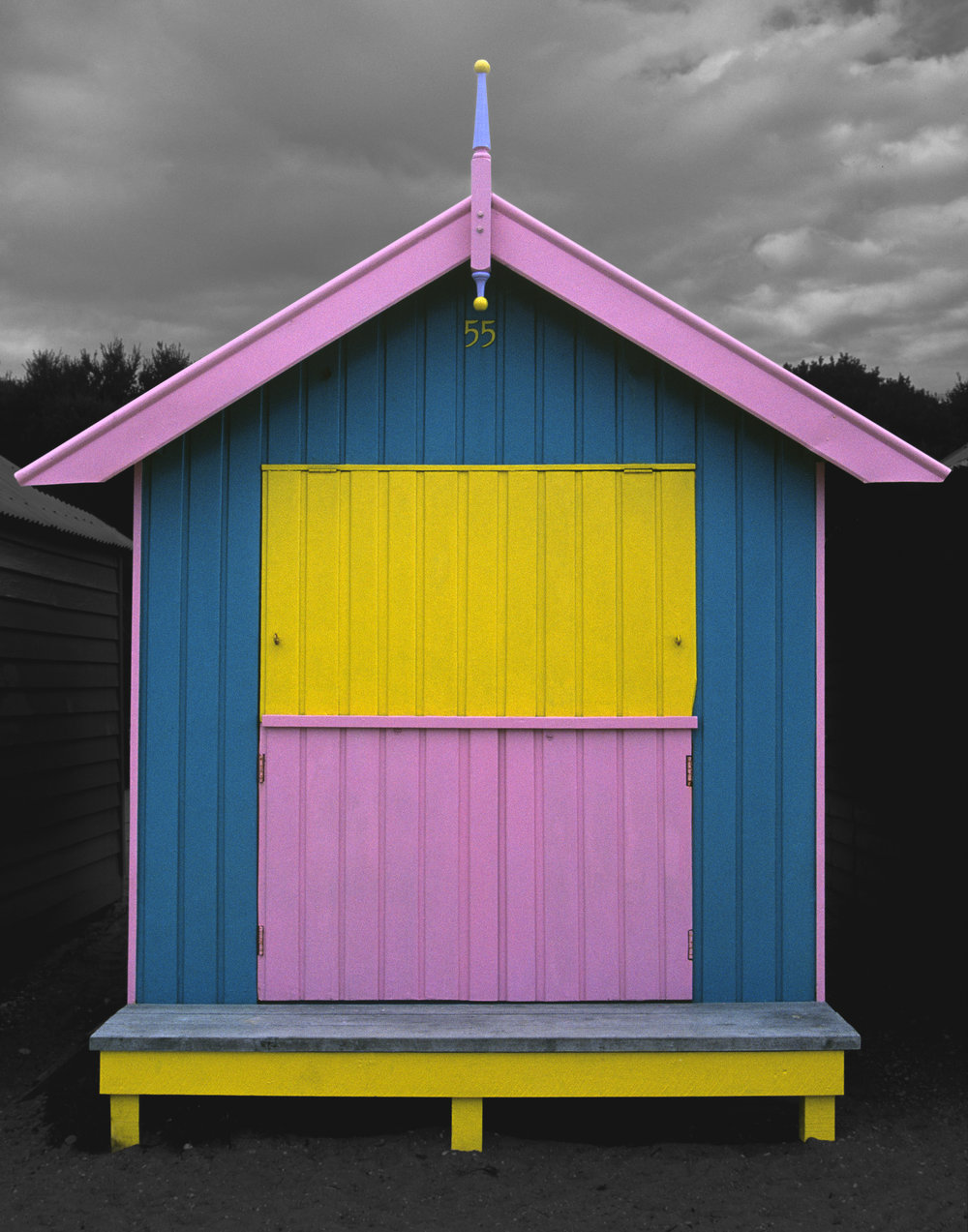Judy Gelles,  Beach Box No. 55 , 2003  Digital pigment print, 8 x 10 in, edition of 20; 11 x 14 in, edition of 25; 16 x 20 in, edition of 25   Inquire