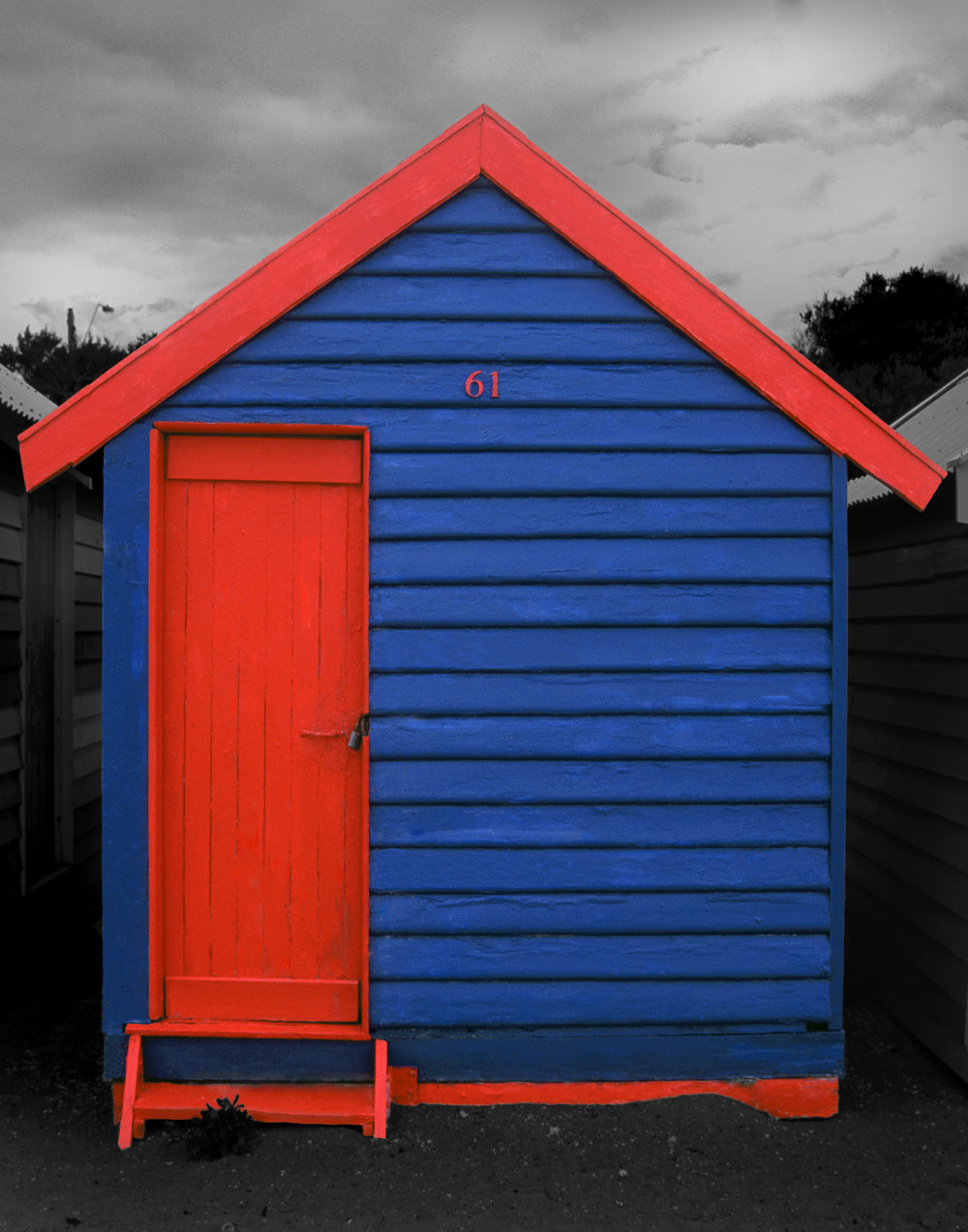 Judy Gelles,  Beach Box No. 61 , 2003  Digital pigment print, 8 x 10 in, edition of 20; 11 x 14 in, edition of 25; 16 x 20 in, edition of 25   Inquire