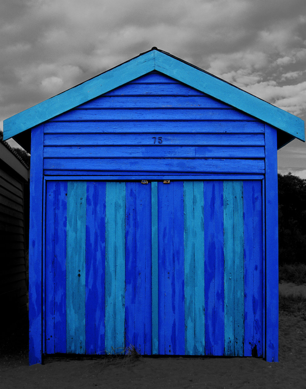 Judy Gelles,  Beach Box No. 75 , 2003  Digital pigment print, 8 x 10 in, edition of 20; 11 x 14 in, edition of 25; 16 x 20 in, edition of 25   Inquire