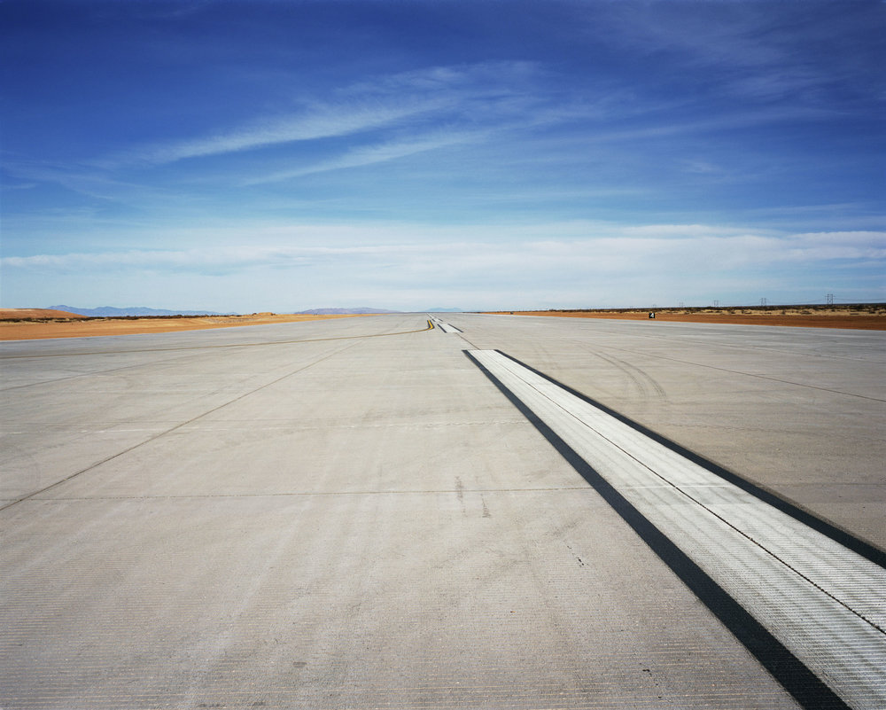 Connie Samaras,  Spaceport America: Runway, 2010   Digital pigment print, 30 x 40 inches, edition of 5   Inquire