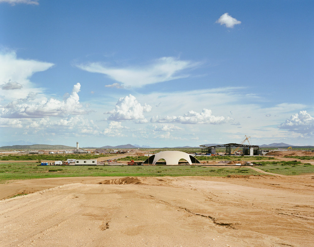 Connie Samaras,  Spaceport America: Spaceport America, 2010   Digital pigment print, 30 x 40 inches, edition of 5   Inquire