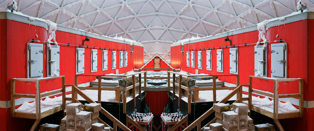 Connie Samaras,  V.A.L.I.S. (Vast Active Living Intelligence System): Dome Interior (now dismantled), 2005-2007   Digital pigment print, 48 x 60 inches, edition of 5   Inquire