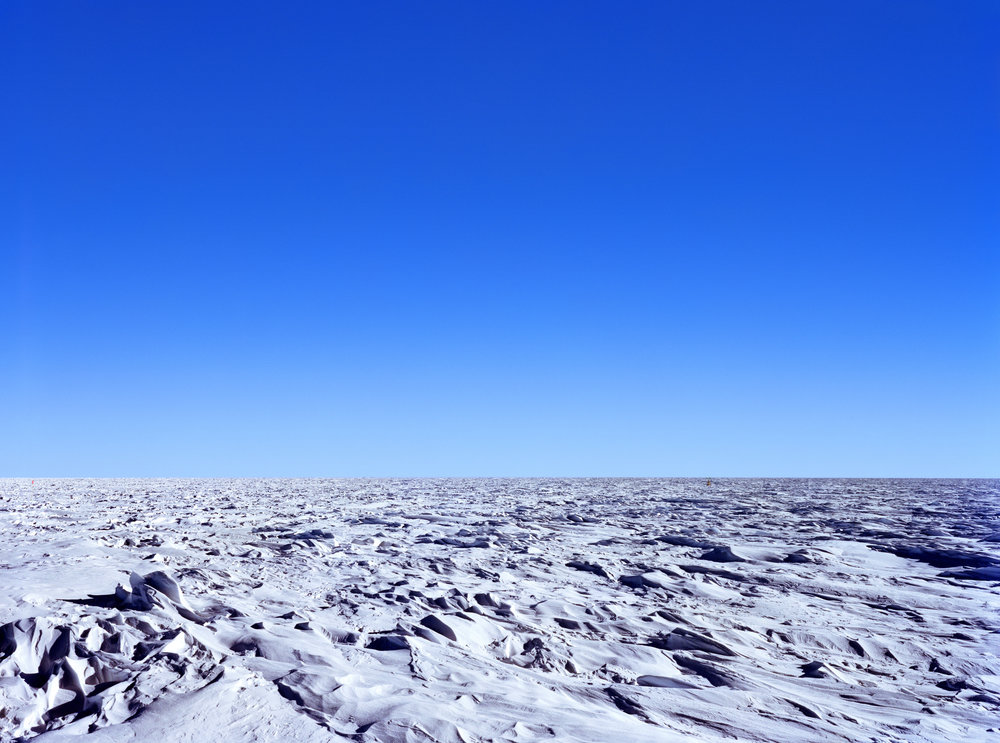 Connie Samaras,  V.A.L.I.S. (Vast Active Living Intelligence System): Day/Night Divide Polar Plateau, 2005-2007   Digital pigment print, 29 x 40 inches, edition of 5   Inquire