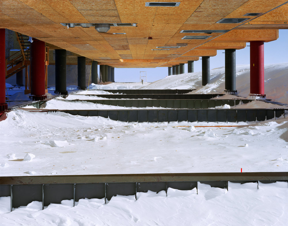 Connie Samaras,  V.A.L.I.S. (Vast Active Living Intelligence System): Underneath the Amundsen-Scott Station, 2005-2007   Digital pigment print, 48 x 60 inches, edition of 5   Inquire