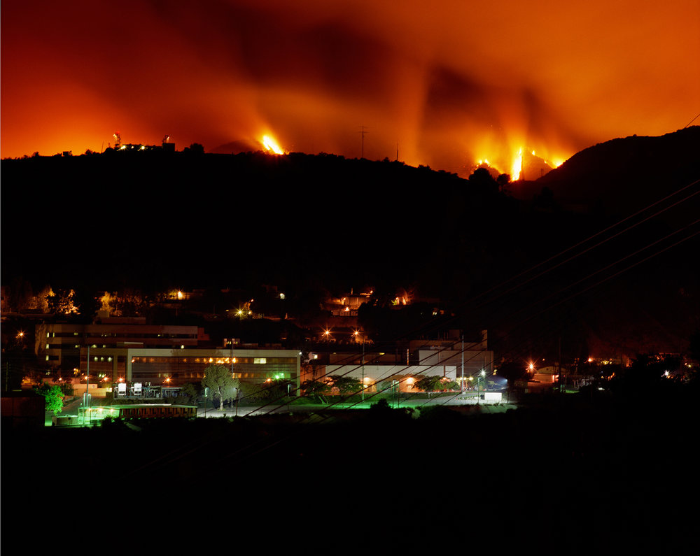 Connie Samaras,  Surface Events: Station Fire, Jet Propulsion Laboratory, 2009   Digital pigment print, 40 x 48 inches, edition of 5   Inquire