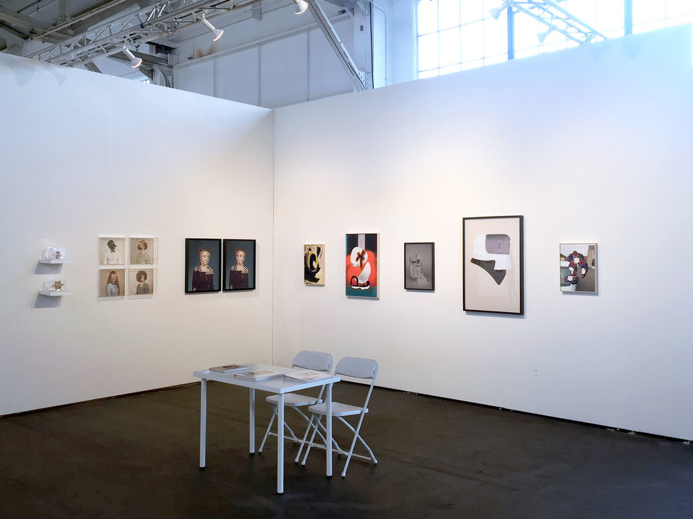 Alma Haser and Denis Darzacq at Photofairs San Francisco 2018    Inquire