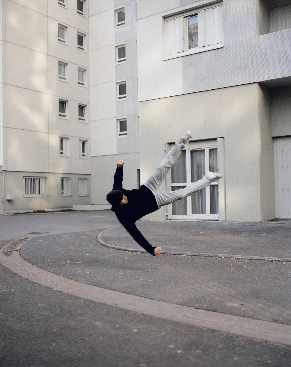 Denis Darzacq,  La Chute No. 2 , 2006  Digital C-print, 85 x 105 cm (approx. 33 x 41 in), edition of 8   Inquire