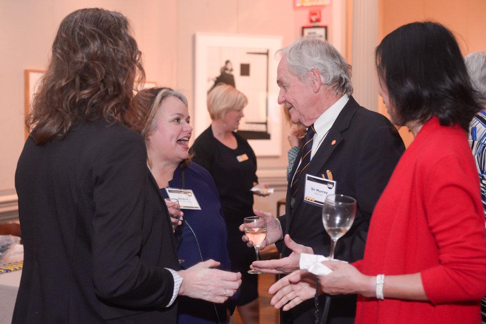 Honoring Sir Murray Brennan - October 2017 - New York, NY