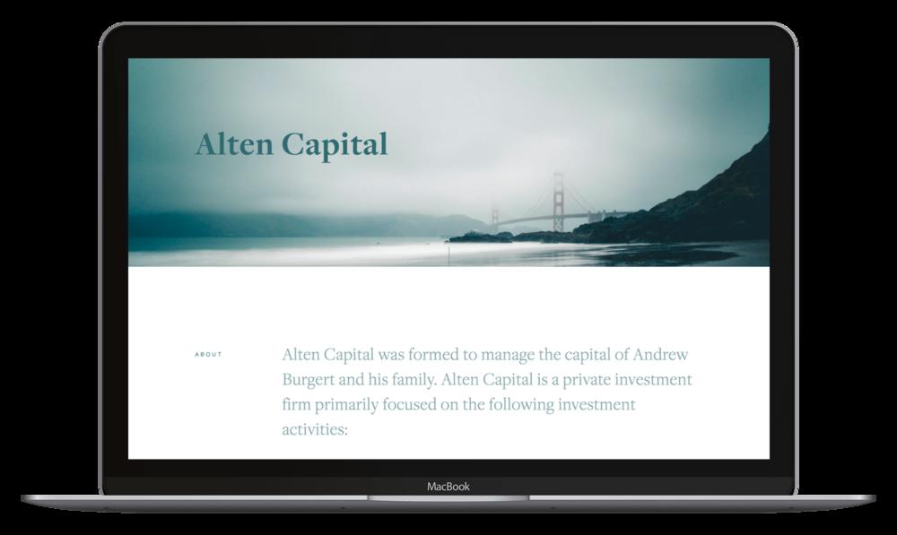Alten Capital -