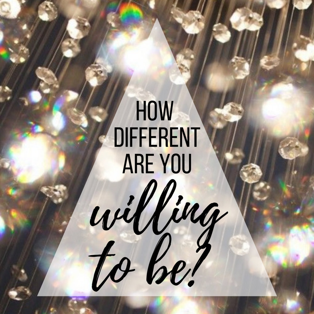Upcoming Class - Delight in your unusualness.Celebrate what makes you different!