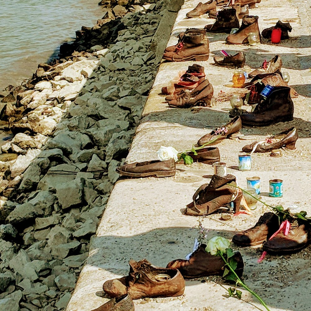 The Shoe Memorial, Danube River