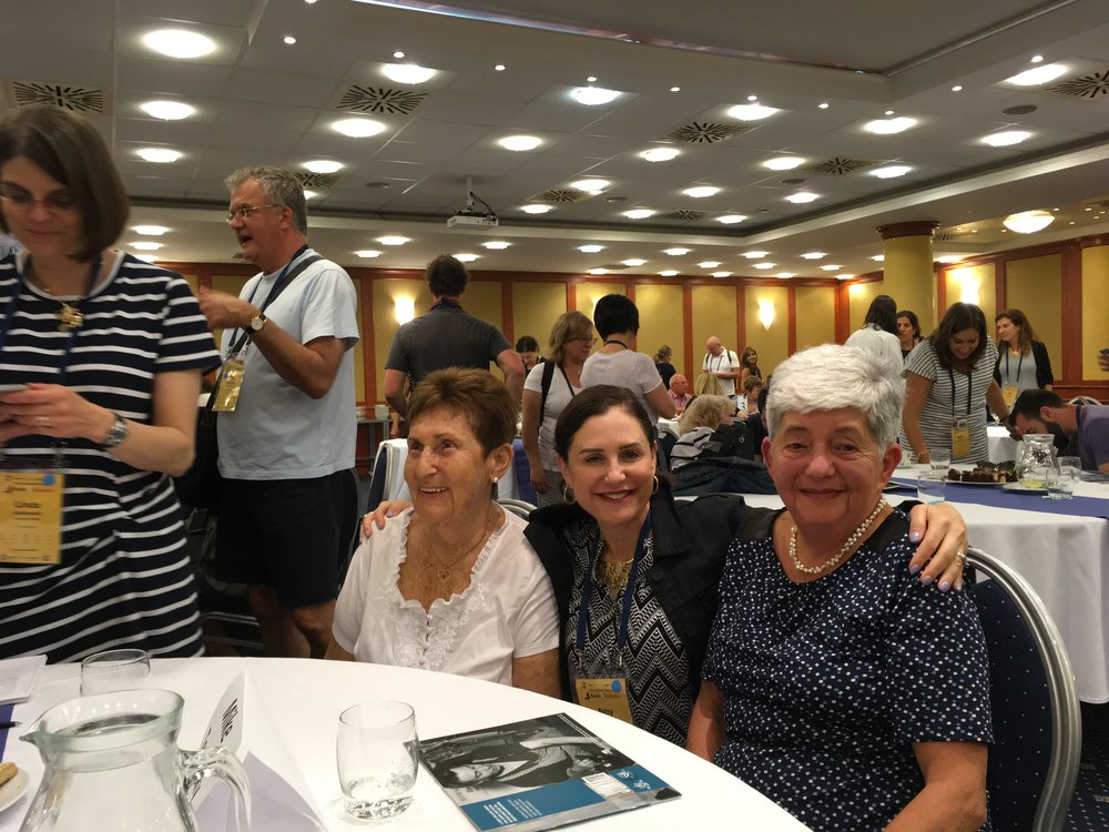 Spending time with survivors, Budapest