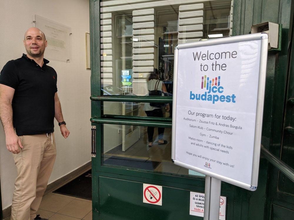 Visiting the Budapest JCC