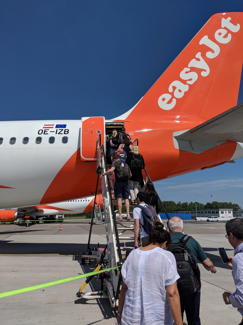 Easy Jet to Budapest