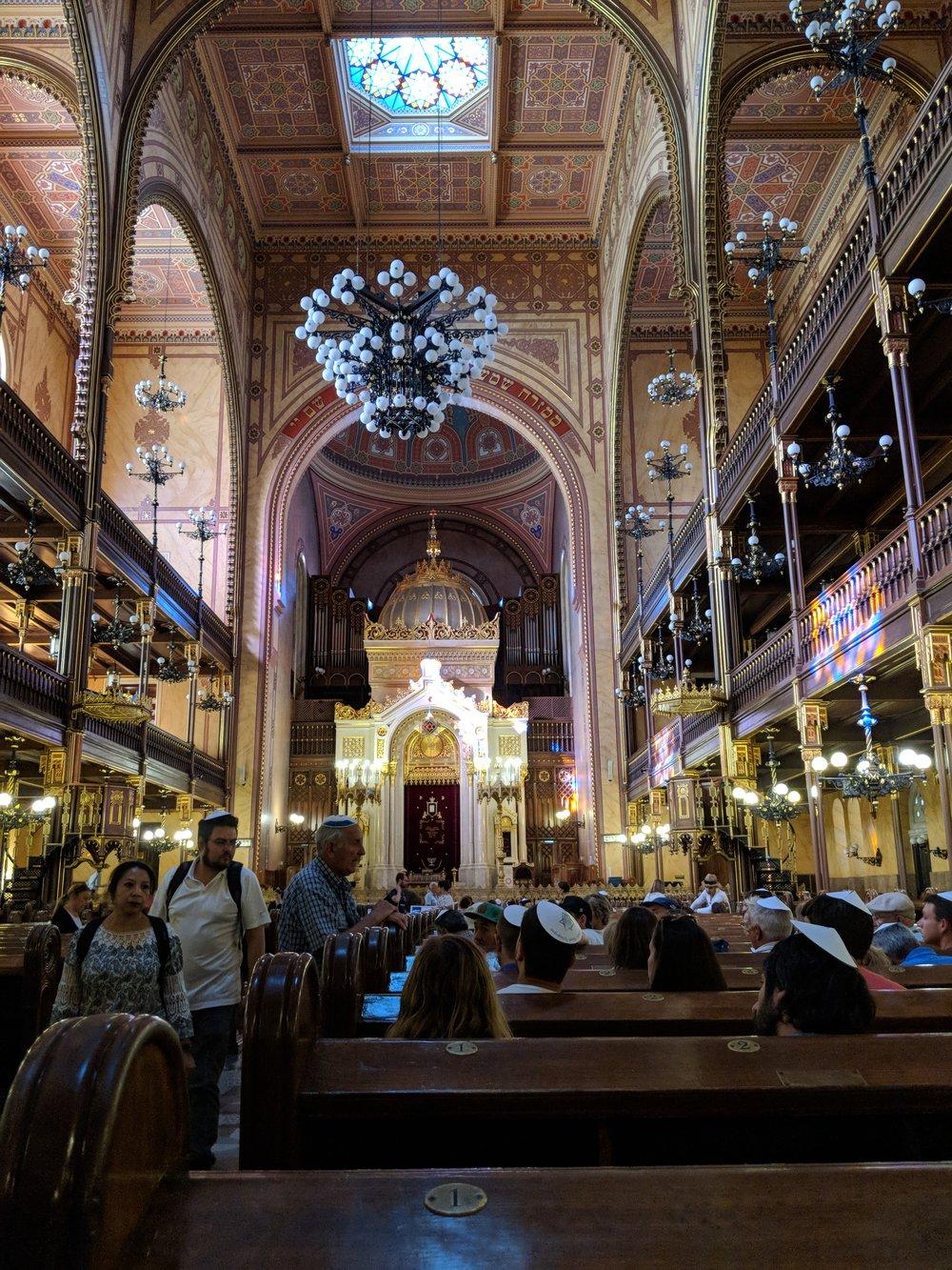 Dohany Synagogue, Budapest