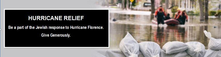 Hurricane Relief Banner