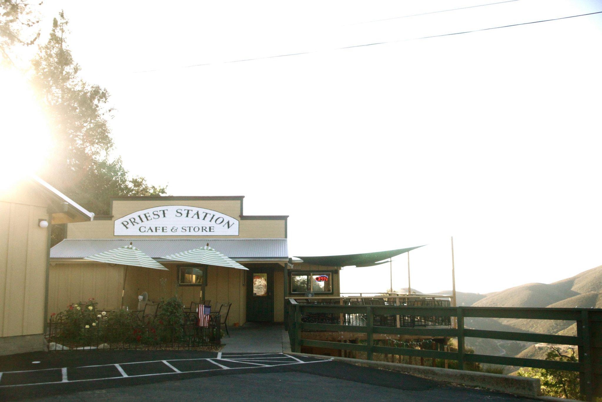 Priest Station Cafe
