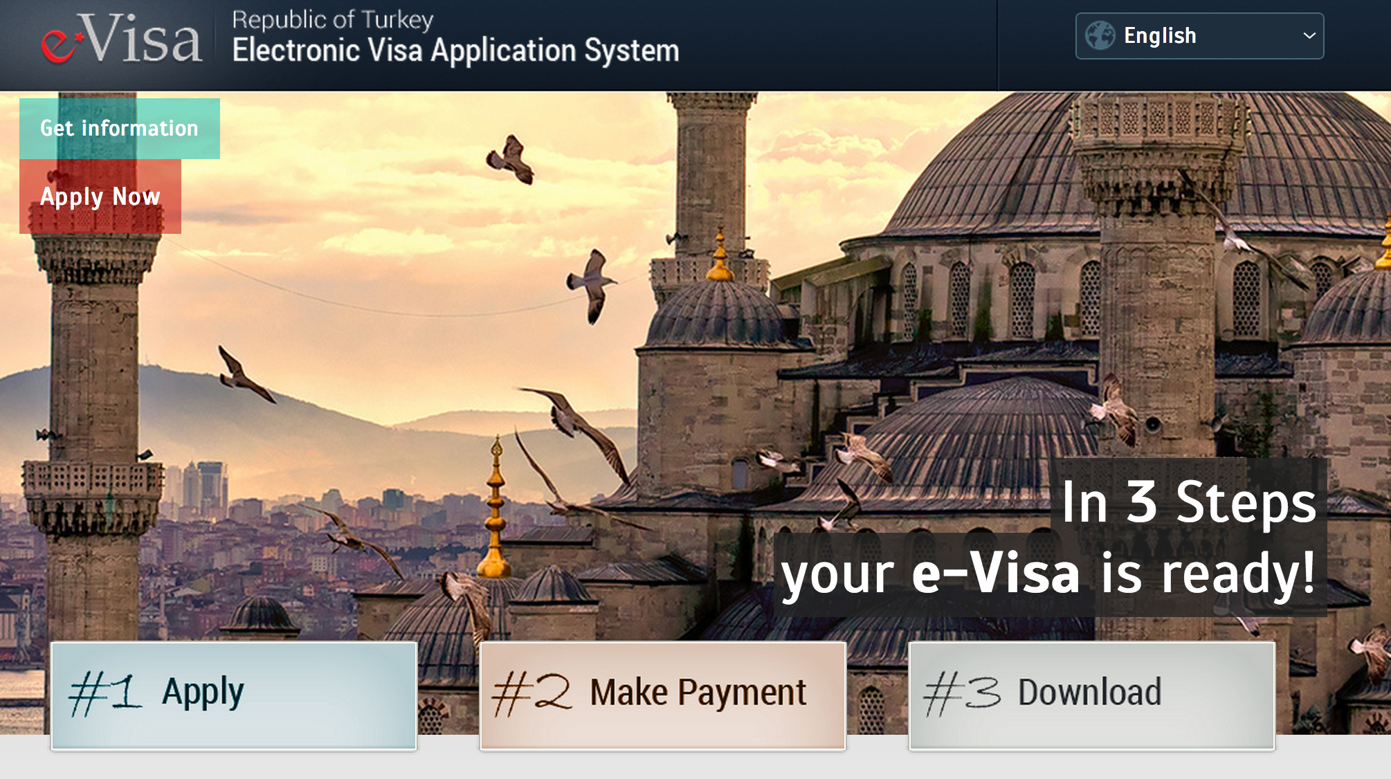 e-Visa for Turkey