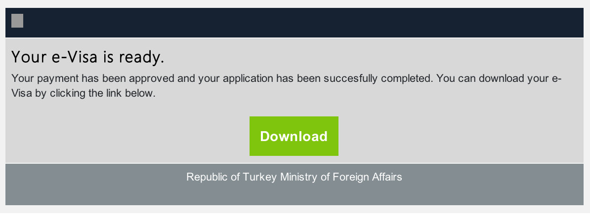 Turkey download email