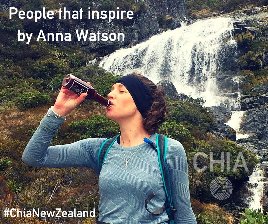 CHIA's inspiring people by Anna Watson