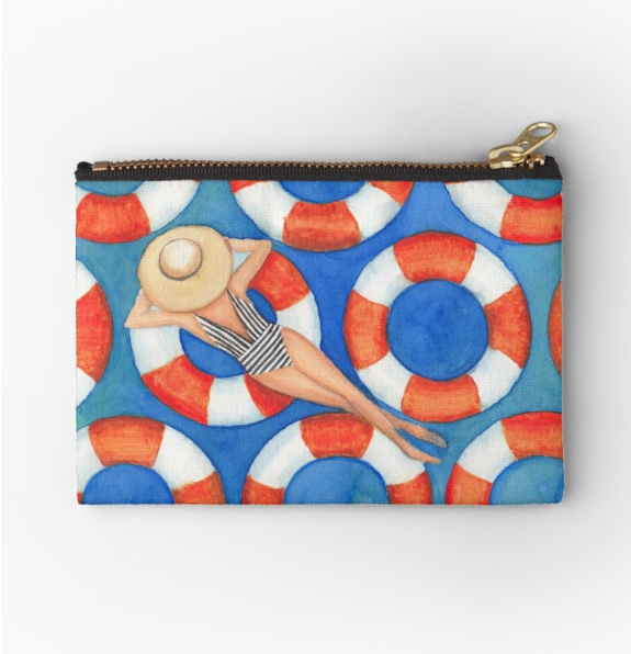 Beach Babe Travel Bag |    $13