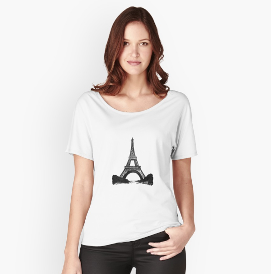 Eiffel Tower T-Shirt |  $31.95