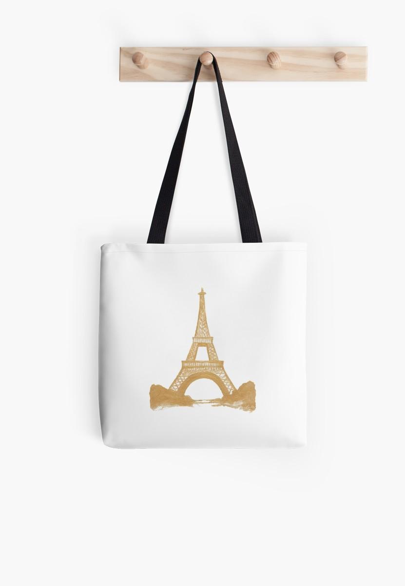 Gold Eiffel Tower |  $21.67