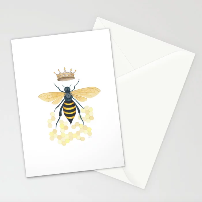 Queen Bee - 5x7 Cards (set of 10)  $23.99
