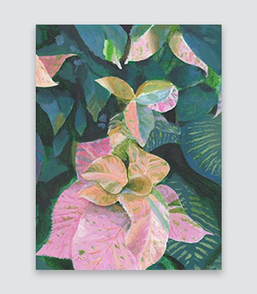 Wild Jungle  8x10,  $215