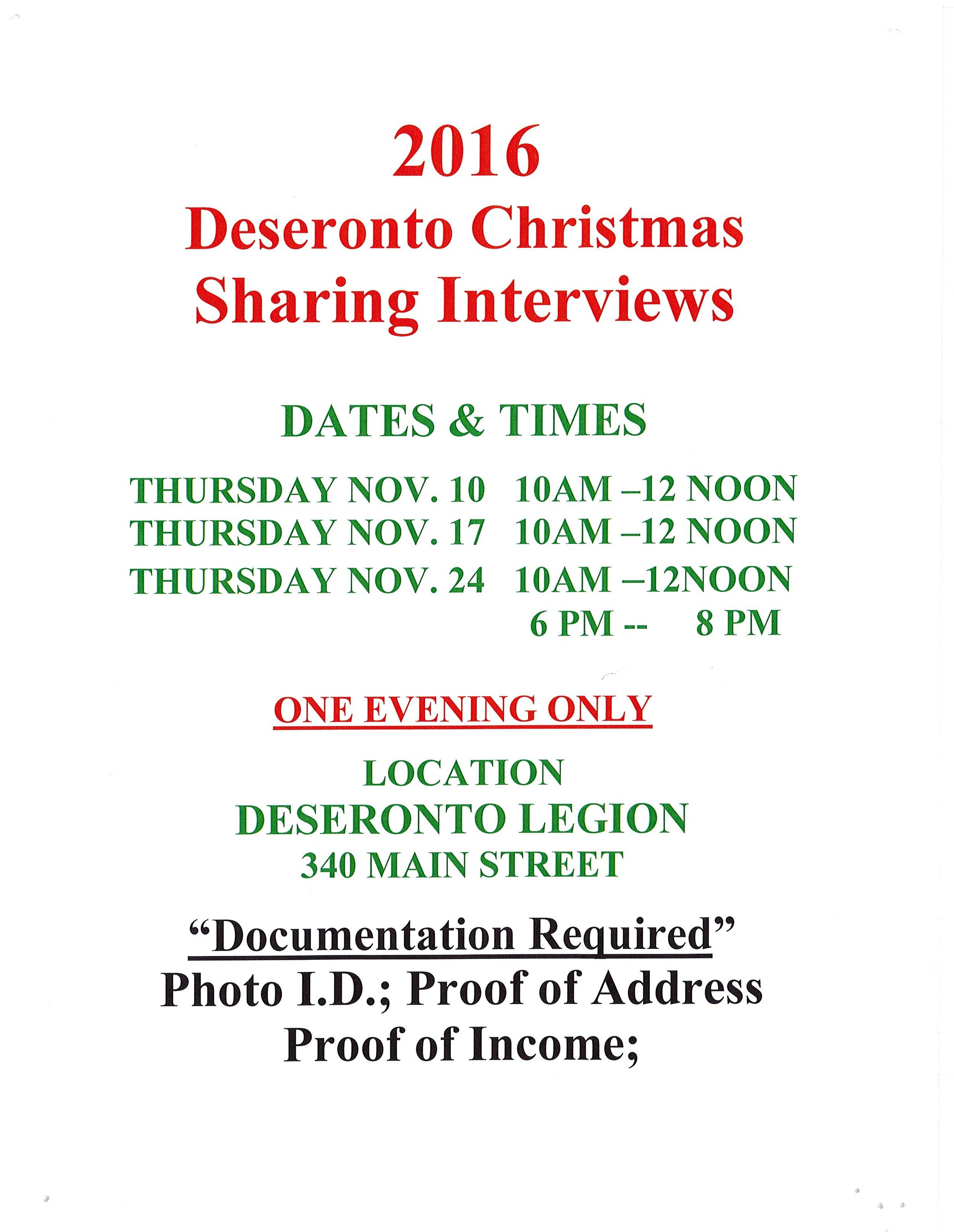 Christmas Sharing 2016
