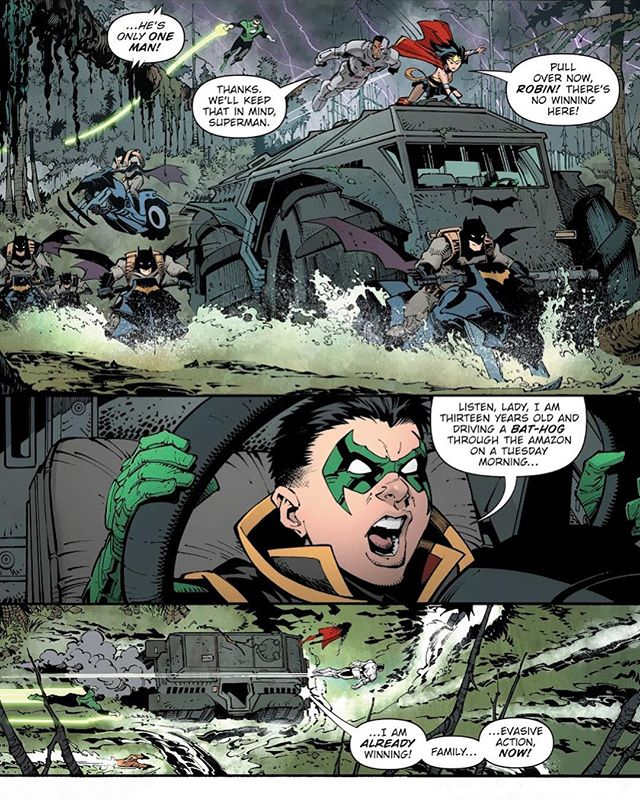 #damianwayne everyone. Winning from birth. - #dccomics #batman #robin #damian