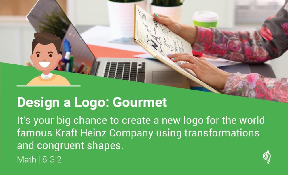 challenge cards-standard+logo_design a logo- gourmet.png