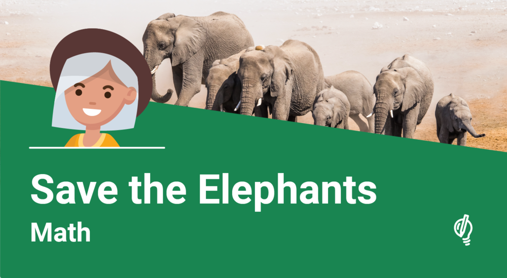- You're raising money to support a wildlife sanctuary (a safe place) for elephants. After a successful donation campaign, determine who gets what prize.Environment | Expressions & Equations