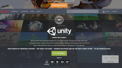 Humble Unity Bundle — XR Community