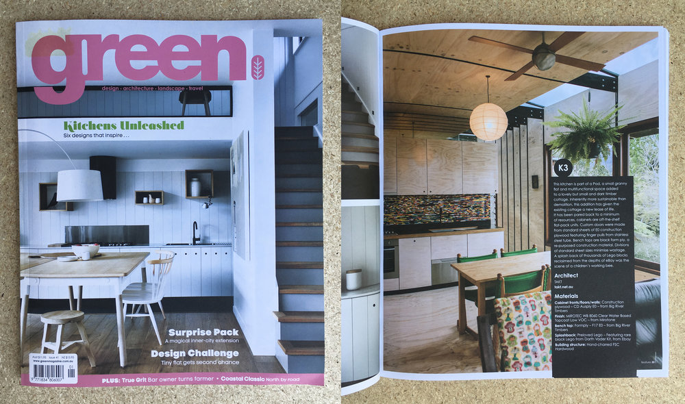 Green Magazine - Issue 41 - The Pod Kitchen