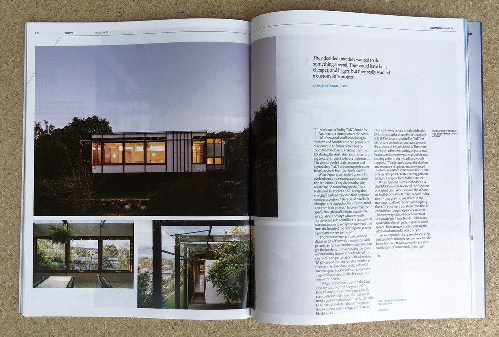 Mezzanine Magazine The Pod.JPG