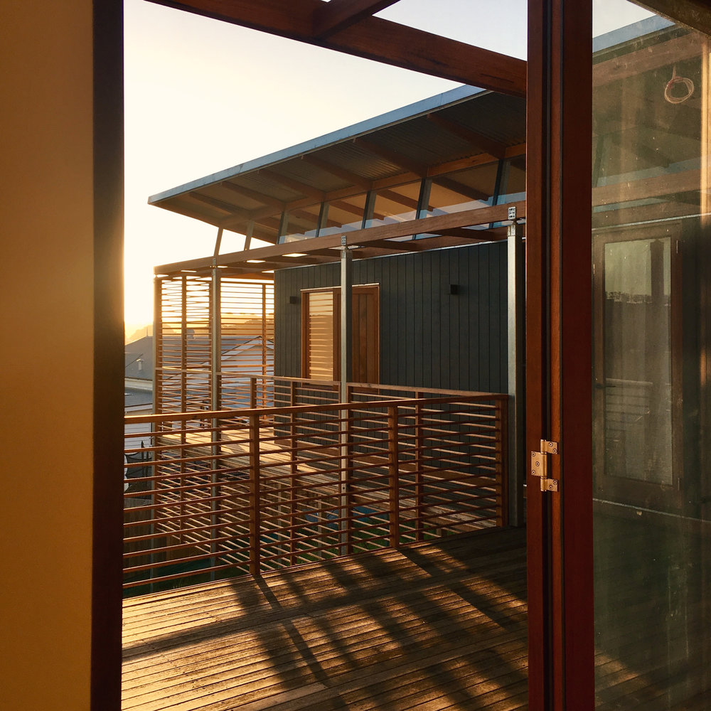 Takt Joint Bangalow bungalow sunset deck rear.jpg