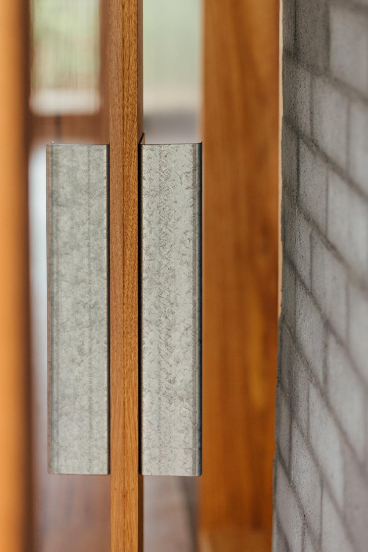 Takt exoskeleton house door detail