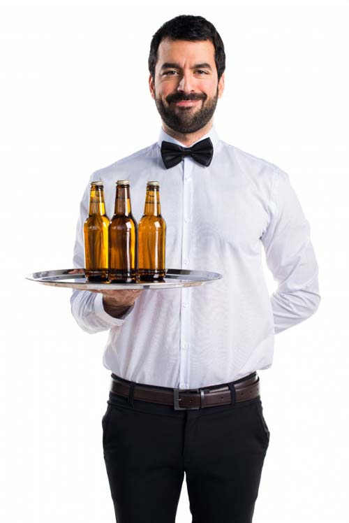 Bar & Pool Side Waiting Staff - Uniforms