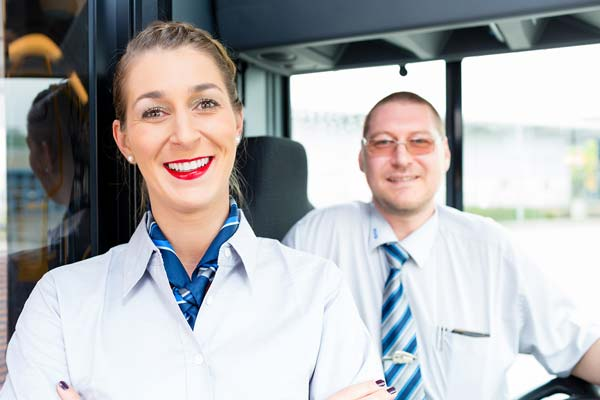 Bus Driver Uniforms with Vest