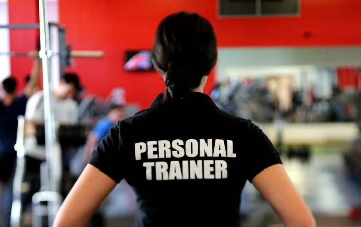 Personal fitness trainer uniforms