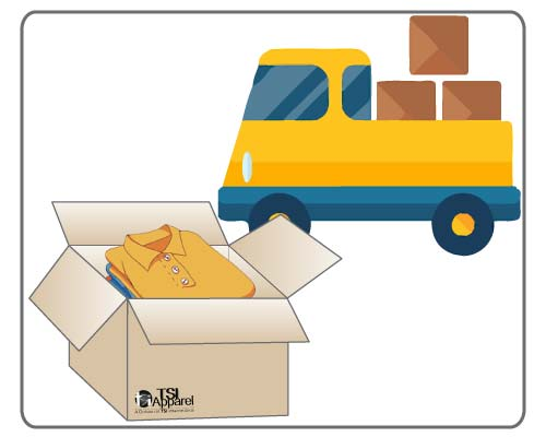 Get on-time delivery of uniforms