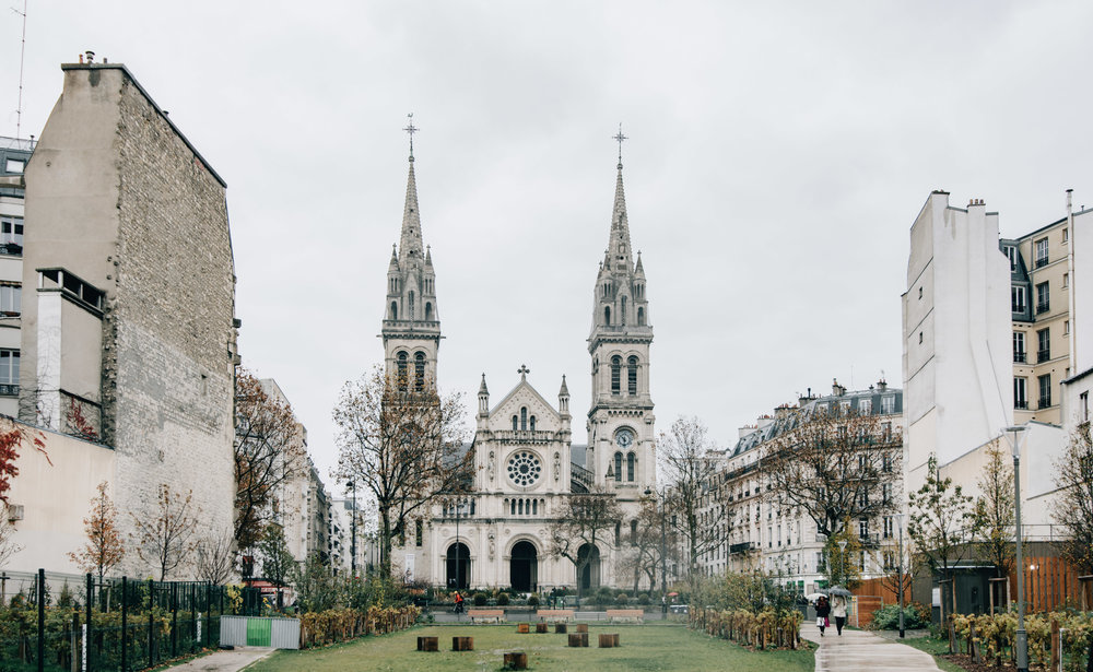 Eglise Saint-Ambroise, Boulevard Voltaire, 11eme