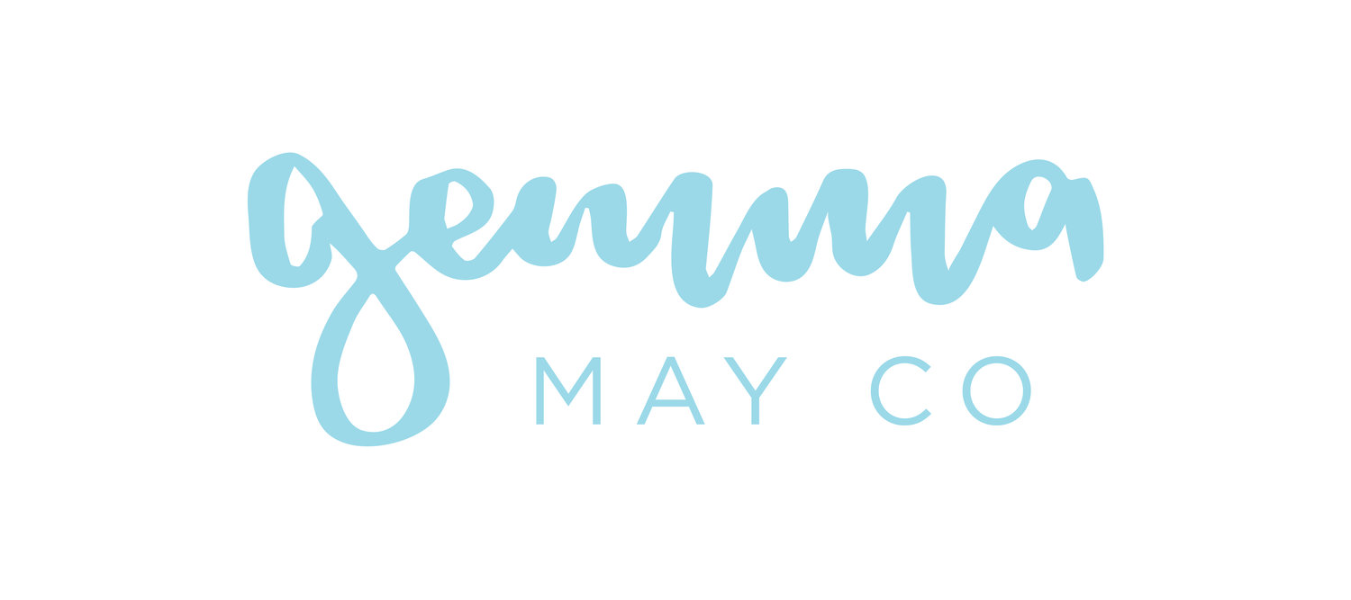 Gemma May Co | Sunshine Coast Graphic Design & Brush Lettering